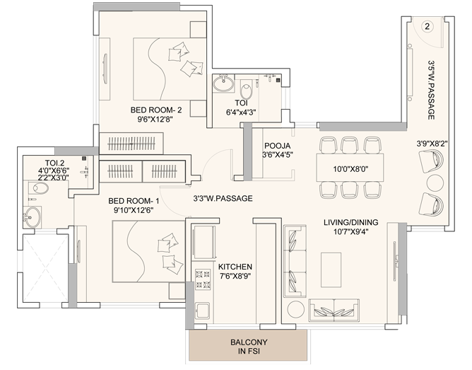 flats in andheri west