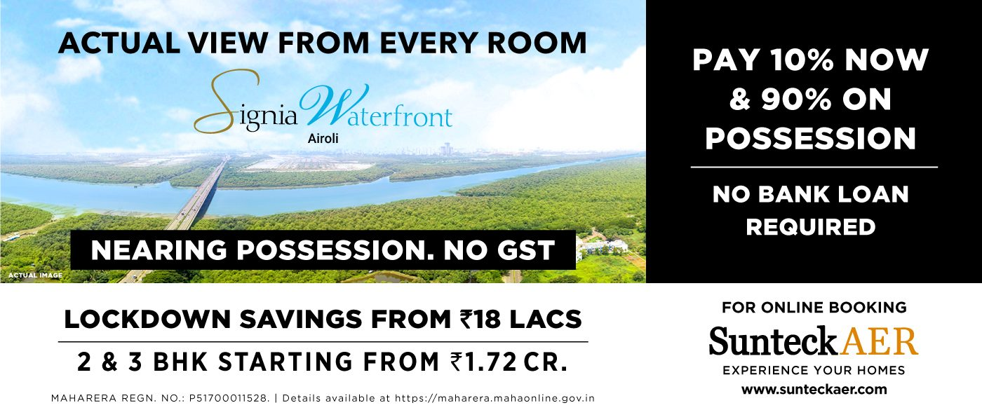 water view apartments in airoli - Sunteck India