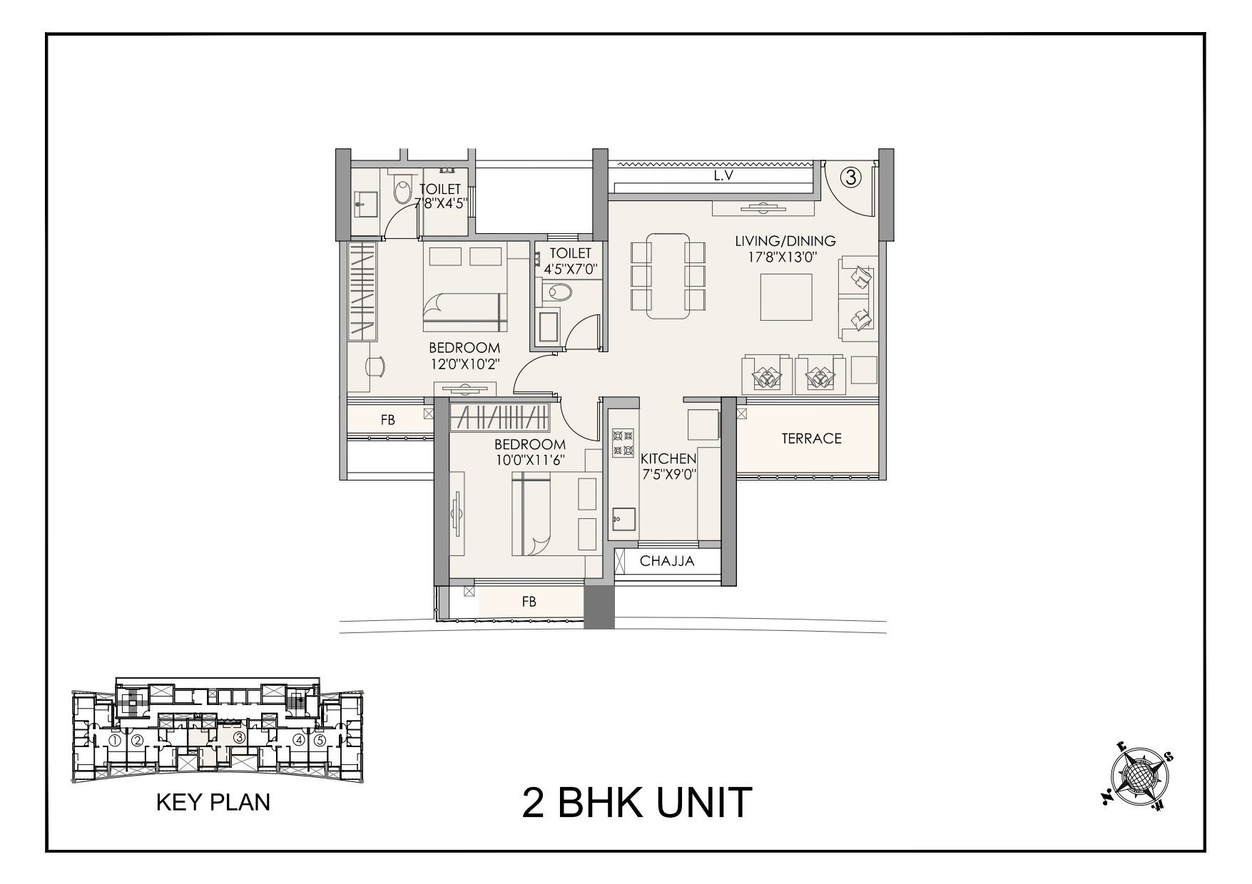 2 Bhk Apartments In Airoli